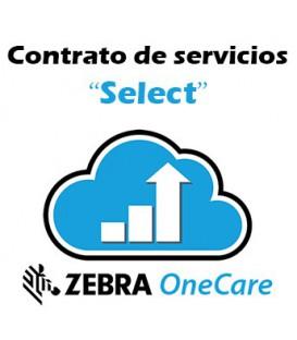 Contrato de servicios Zebra Select