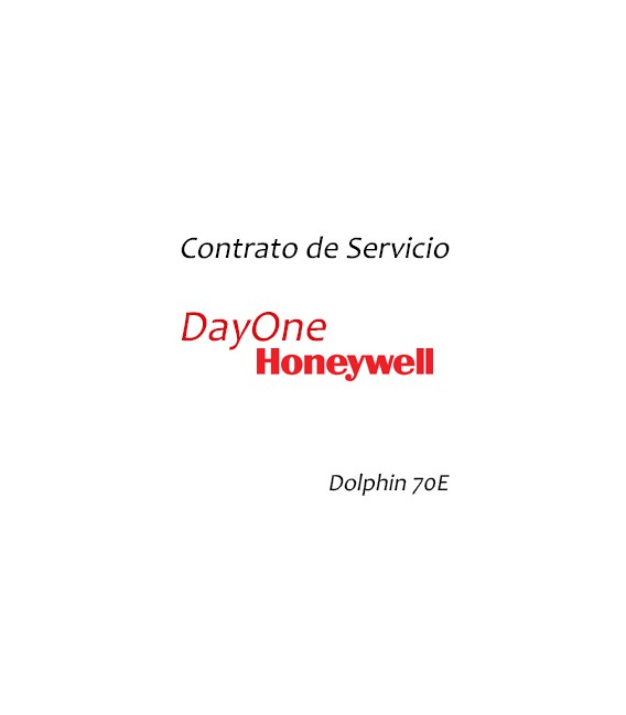 SVCD70E-5FC3 Contrato de Servicio - Honeywell Dolphin 70E