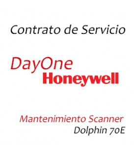 Contrato Mantenimiento Scanner - Honeywell Dolphin 70E