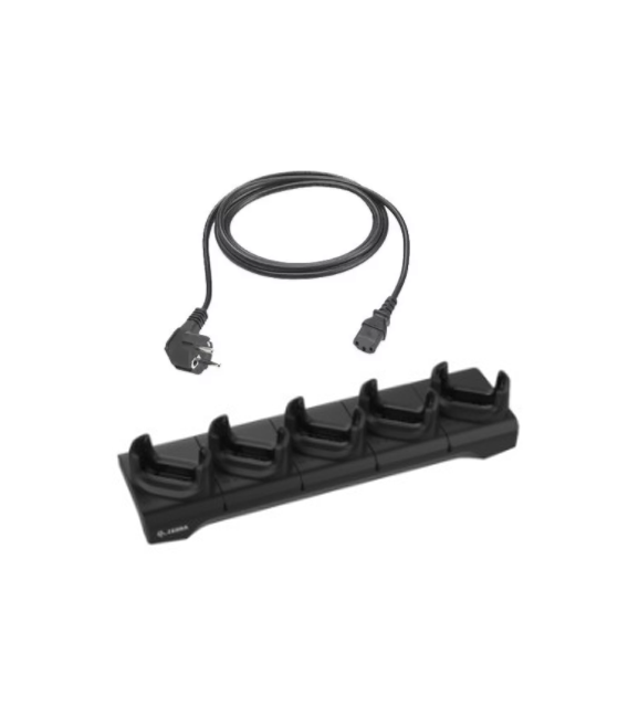 PACK  Base de carga 5   y  Cable alimentacion
