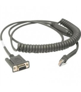 Cable - RS232: DB9 Female Connector, 9ft (2.8m) Coiled, Power Pin 9