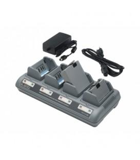 Cargador 4 Baterias Zebra  QLn220, QLn320, QLn420, ZQ510, ZQ520